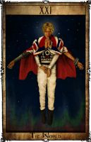 Bowie Tarot Collection - XXI - The World by Triever