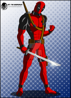 Deadpool is in the House by The-GreenGoblin