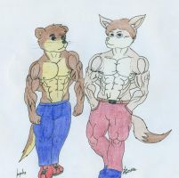 AT - Guys' new bodies by Tails-N-Doll