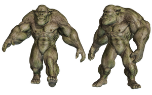 Ogre 02 PNG Stock by Roys-Art