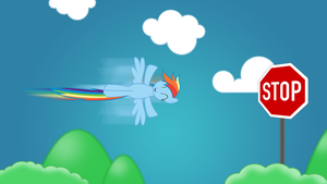 Rainbow Dash - Foresight, we know what will happen by P3r0