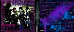 Phantasmagoria CD Cover Design by Triptych-Schift