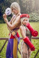 Vega and Cammy by maxwellWhavok