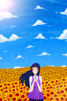 Sunflowers by Ego-chan