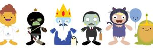 ADC: Adventure Time row 2 by striffle
