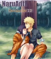 NaruHina under a Tree ID by NaruAnit