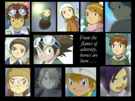 Digimon 1024x768 Wallpaper by ThePageOfCups