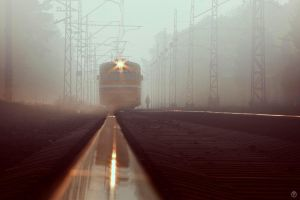 Fog Train by PsihoDrill