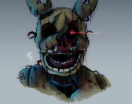 [Doodle] Springtrap by Nadi-Chan