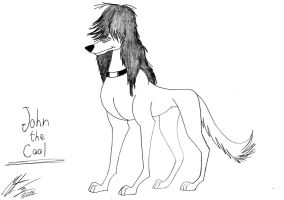 Kitara the wolfhound - John the Cool by MortenEng21