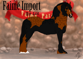 Faime Import 208 by bedfordblack