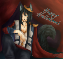 .: Happy Halloween! :. by Ask-Serca
