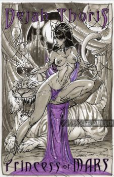 Dejah Thoris 1 by J-Scott-Campbell