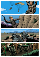 Army's specialty bookmarks by DarkHestur