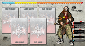 Zombicide Redesigned Character Sheet - Ned by ZAQUARD