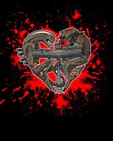 avp heart bloody version by yayzus