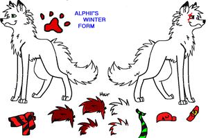 Alphii Winter Form by AlphiiFire