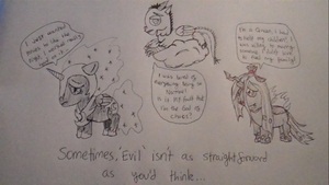 Sympathy for the bad guys by LaLaLaNiceLady