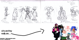 Drawn Together Again [Concept Art Sheet] by SuperMaster10