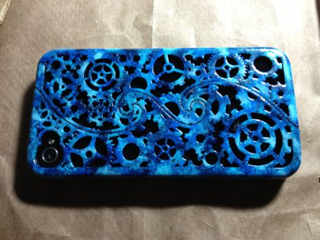 Painted 3d printed iPhone case by NonCharon