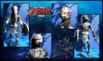Link Papercraft : Zora Armor TP by Noemie-in-Art