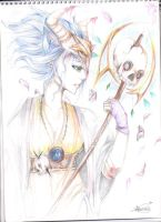 godess of war and death by anime-begginer12