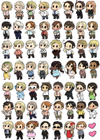 Hetalia stickers! by SaucyMcFuzzy