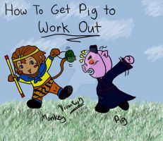 How To Get Pig to Work Out by Twin-Divinity