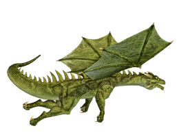Dragon 18 PNG Stock by Roys-Art