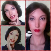 Snow white istant make up by valentinachan