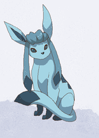 Glaceon's Blizzard by Kainaa