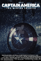 Captain America: The Winter Soldier Poster by DiamondDesignHD