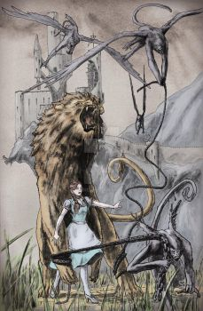 OZ: Dorothy and the Cowardly Lion by TGping