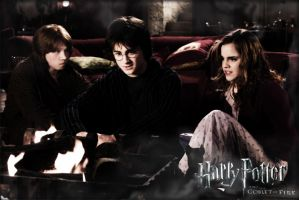 Harry Potter and the Goblet of Fire 2005 TRIO  by Tokimemota