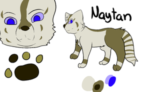 Naytan reference sheet by chlckadee
