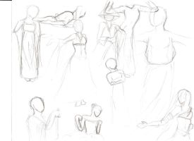 Gesture Drawing 4 by hunapo