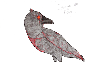 Archipelago : The Raven by DrappingMalice