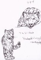 Snow Leopards2 by Imaginary-Shadow