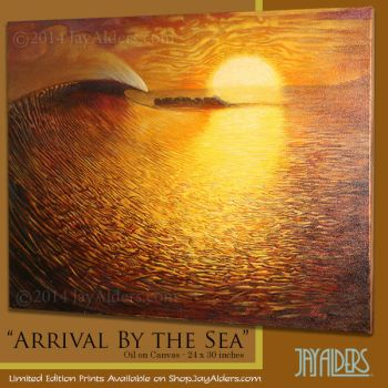 Arrival By The Sea by jayalders
