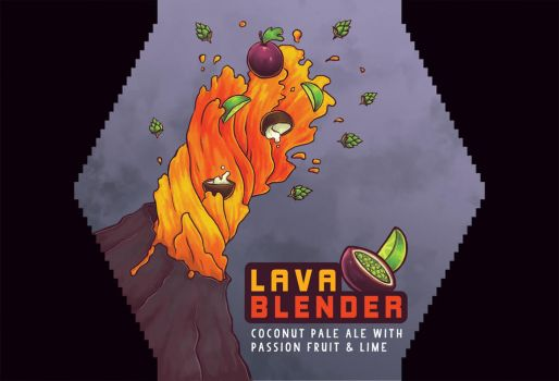 Arcade Brewery Submission-Lava Blender by RochelleSteder