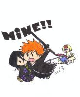 Ichiruki Chibis - Color by Dark-Skater-Girl