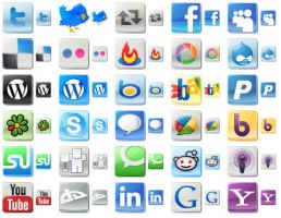 Free Social Media Icons by shockvideoee