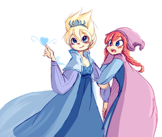 Concept Frozen Girls by bee-chan1
