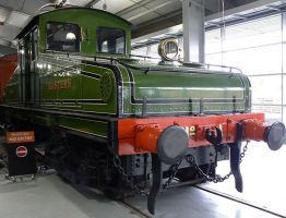 Early Electric Loco by Stumm47
