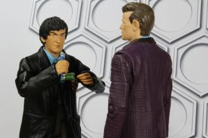 Patrick Troughton as the Curator by GhostLord89