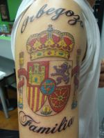 Spanish Coat of Arms by LeviSmithArt