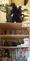 Kaiju Collection Evoltion by GIGAN05