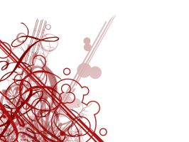 Red Abstract Desktop 1 by eriney