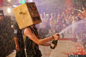 Champagne showers by LMFAORobot