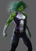 She-Hulk by Vylla